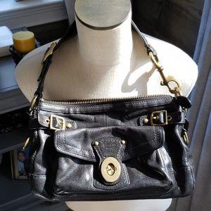 Vintage coach bag black